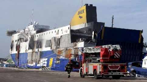 Brindisireport.it – Intervention on the ship Norman Atlantic